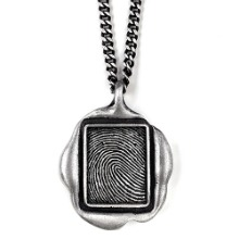 Vintage and Classic jewelry designer brand | seal jewelry, fingerprint necklace, personalized necklace | ODDBLANC